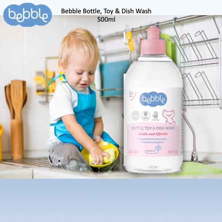 Bebble Bottle, Toy & Dish Wash (500ml)