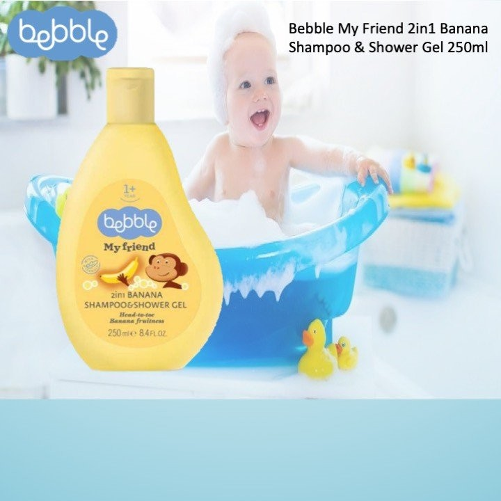 Bebble My Friend 2in1 Banana Shampoo & Shower Gel
