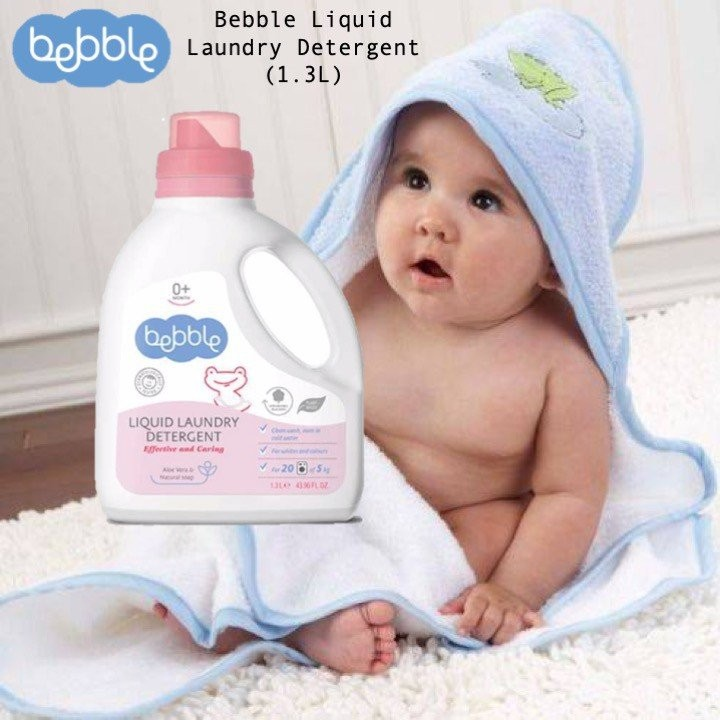 Bebble Liquid Laundry Detergent (1.3L)