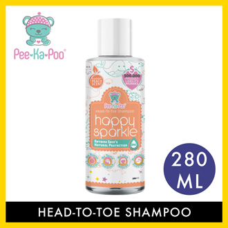 Pee-Ka-Poo Baby Head-to-Toe Shampoo (280ml)