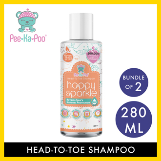 Pee-Ka-Poo Baby Head-to-Toe Shampoo(280ml) Bundle