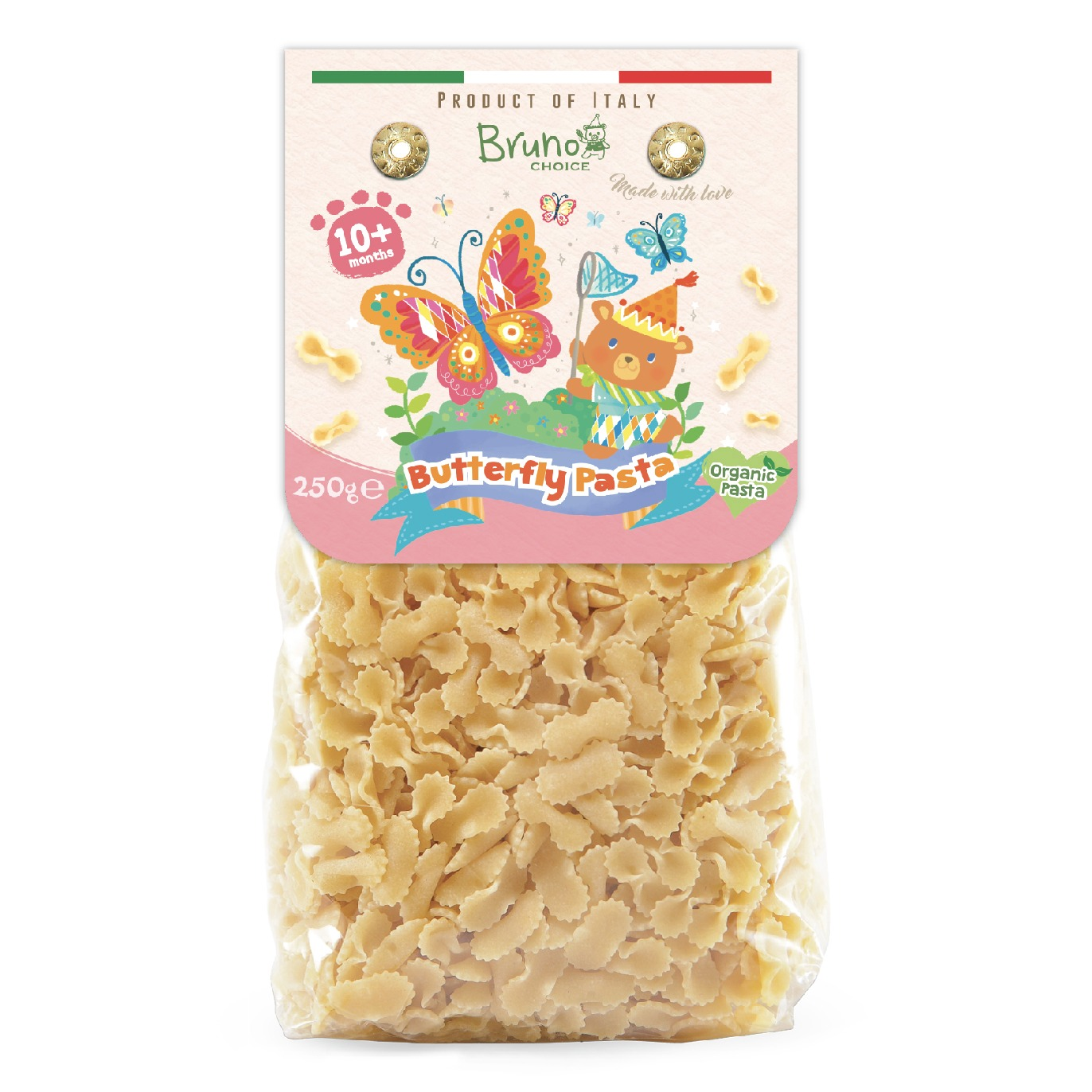 Bruno Choice Butterfly Pasta 250g