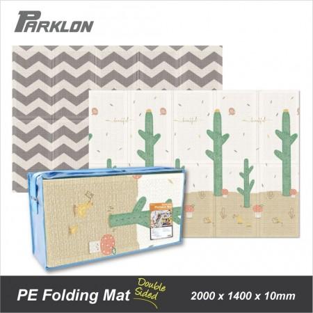 Parklon Double Sided PE Folding Mat Cactus Zig Zag