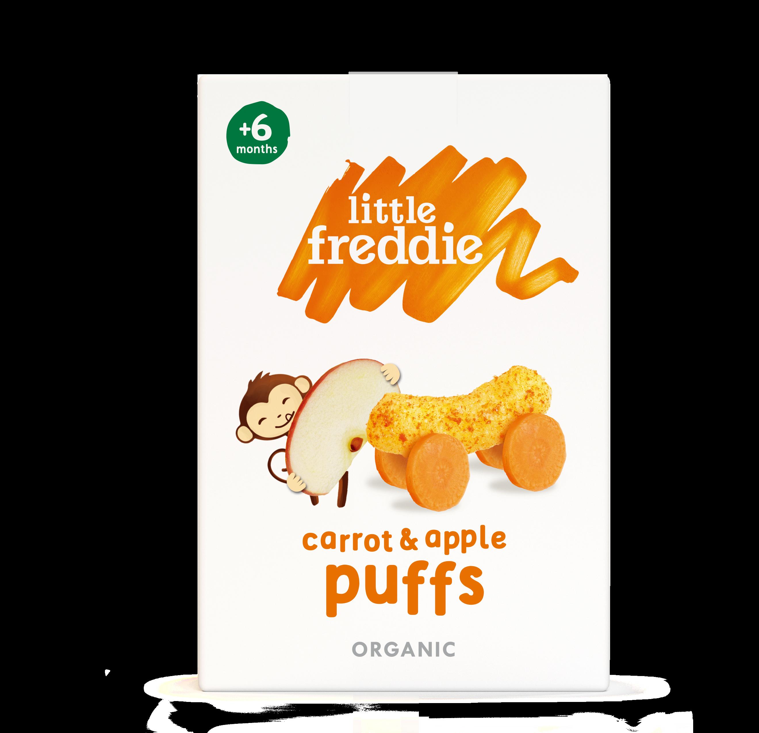 Little Freddie Carrot & Apple Puffs