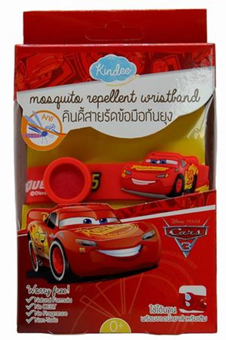 Kindee Mosquito Repellent Wristband - Cars