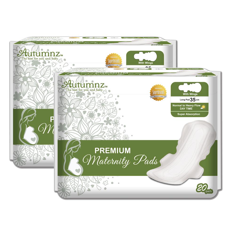 Autumnz - Premium Maternity Pads *35cm* (20 pcs/pa