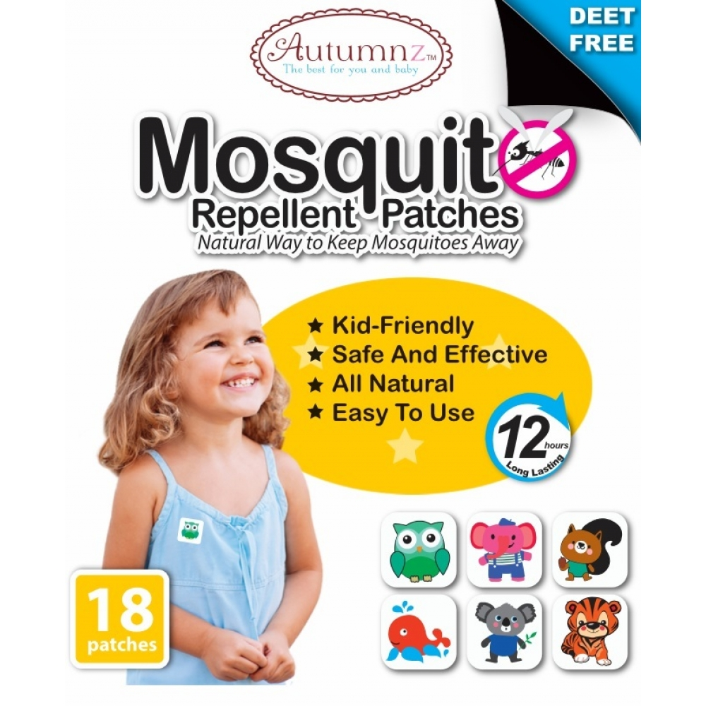 Mosquito Repellent Patches (18 patches/pack)
