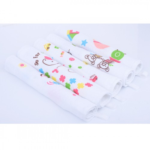 Autumnz - Baby Washcloths *Mixed Designs* (5pcs/pa