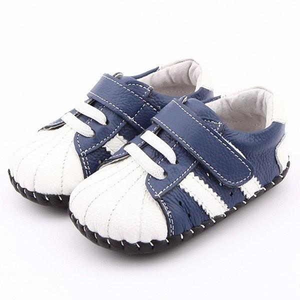 Freycoo - Navy Darryl Infant Shoes