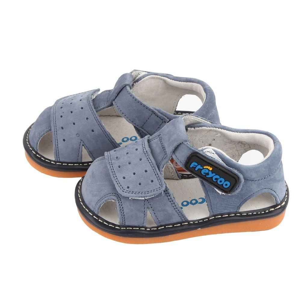 Freycoo -Blue Caspian Squeaky Shoes