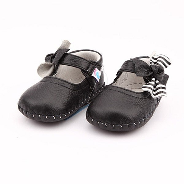 Freycoo - Black Julia Infant Shoes