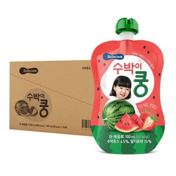 BeBecook - Value Box of 10 x Strawberry & Watermel