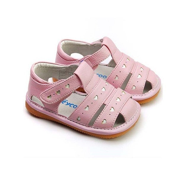Freycoo - Pink Danielle Squeaky Toddler Shoes