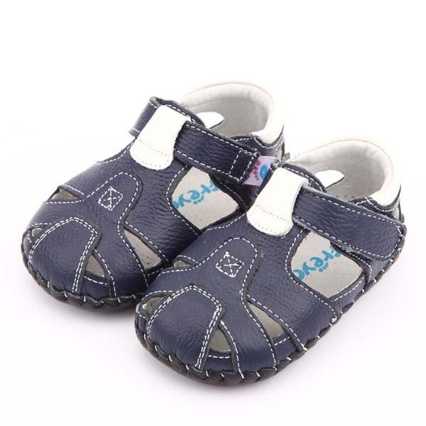 Freycoo - Navy Luke Infant Shoes
