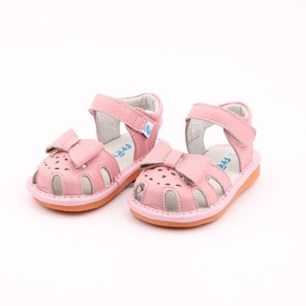 Freycoo - Pink Avery Squeaky Toddler Shoes
