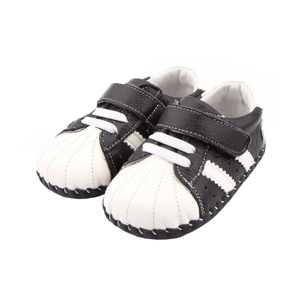Freycoo - Black Darryl Infant Shoes