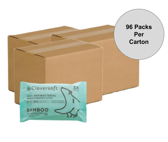 [Exclusive 3 Carton Deal] Cloversoft Unbleached Or