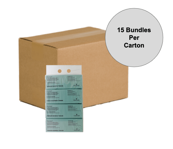 [Exclusive Carton Deal] Cloversoft Unbleached Bamb