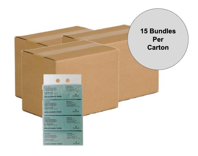 [Exclusive 3 Carton Deal] Cloversoft Unbleached Ba