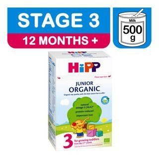 HiPP Organic Stage 3 Growing Up Milk, 500g