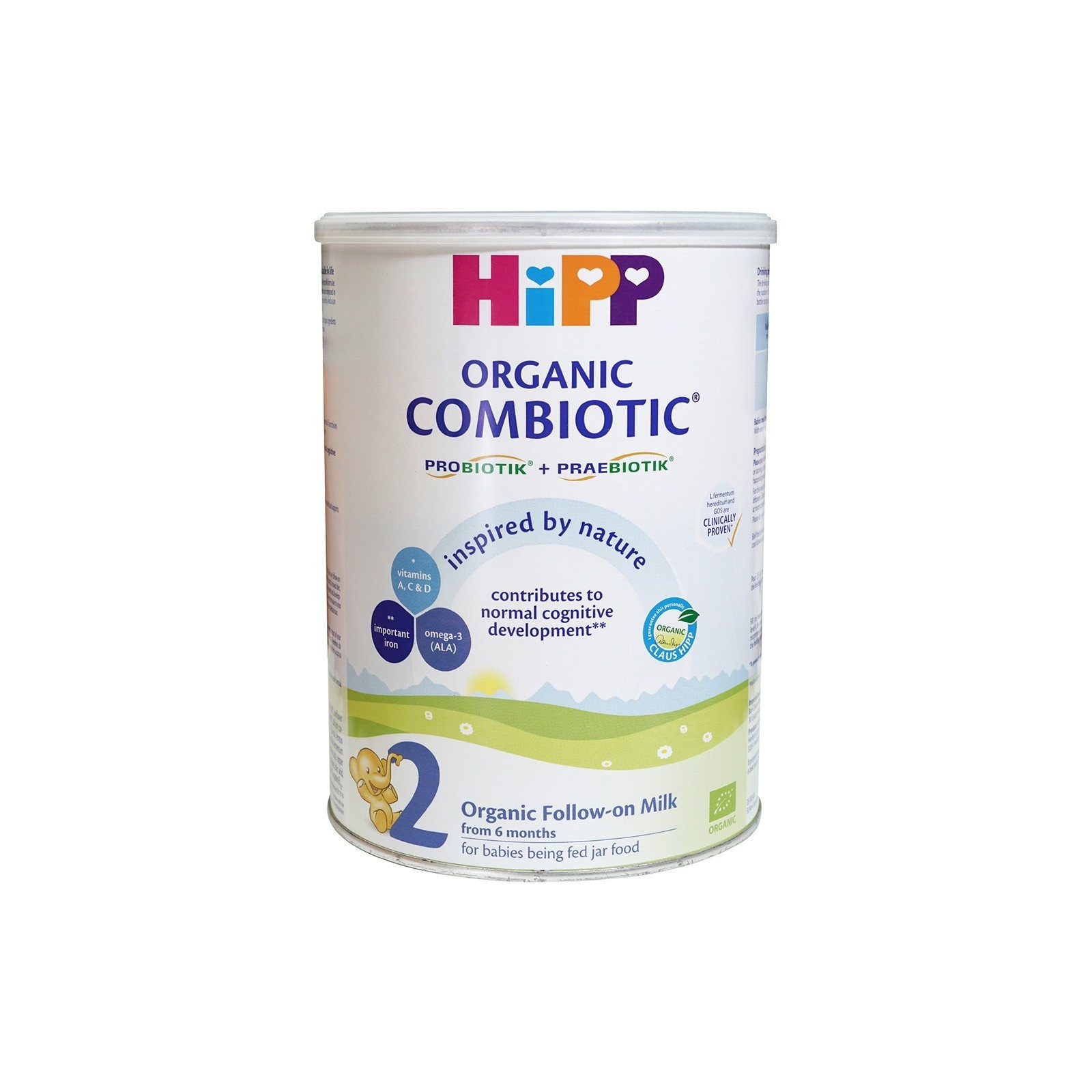 Combiotic Organic Follow On Milk 2, 900g