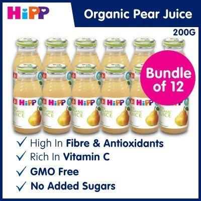 Bundle of 12 [HiPP] Organic Pear Juice