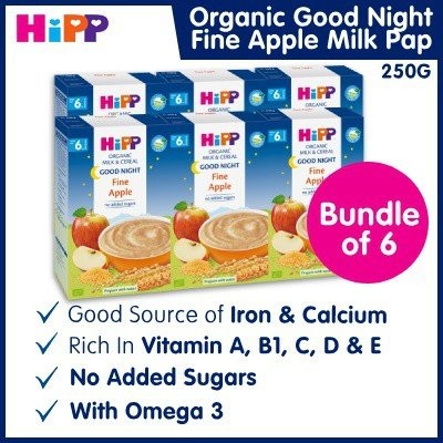 Recommended HiPP Organic Good Night Milk Pap Fine