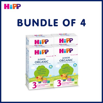 HiPP Organic Stage 3 Growing Up Milk (Bundle of 6)