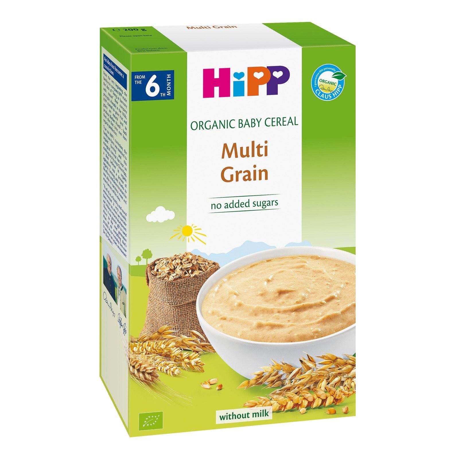 HiPP Organic Multigrain Cereal 200g (Single Box)