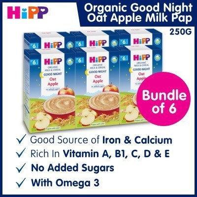 Recommended HiPP Organic Good Night Milk Pap Oat-A