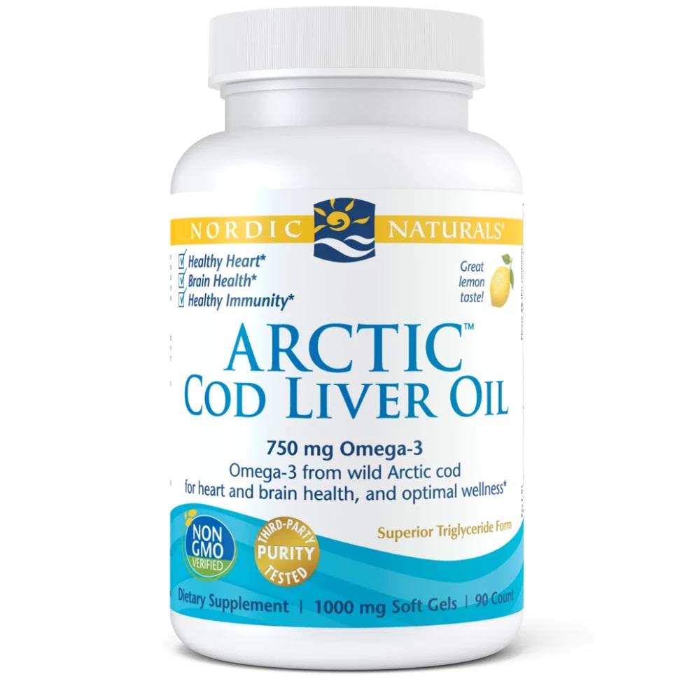 Nordic Naturals Arctic Cod Liver Oil Softgel