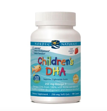 Nordic Naturals Children's DHA Mini Softgels 180s