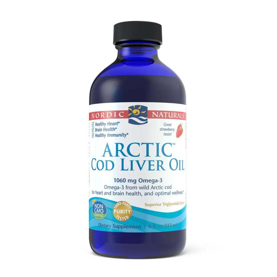 Nordic Naturals Arctic Cod Liver Oil Liquid 8oz