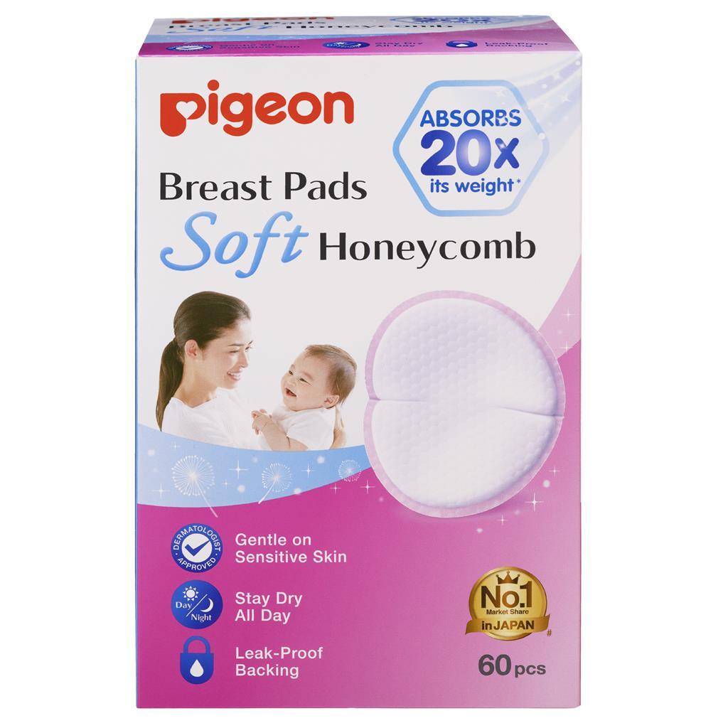 Pigeon Breast Pads Honeycomb, 60Pcs Per Box