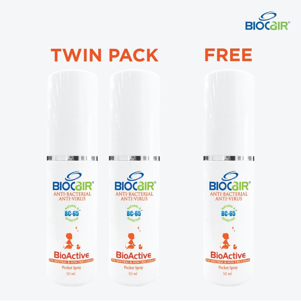 BioCair BioActive Anti-HFMD Pocket Spray (Buy 2 Ge