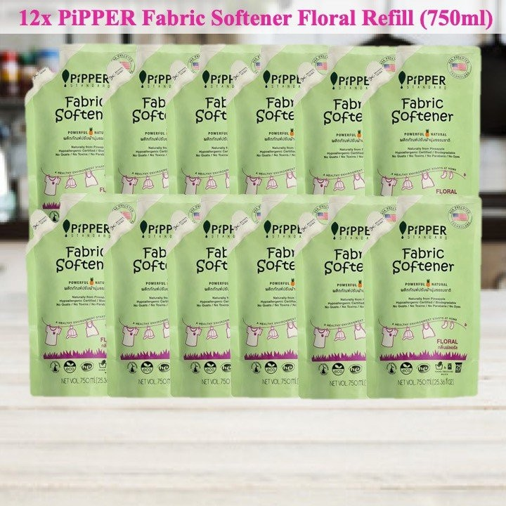 Pipper Standard Fabric Softener Floral Refill 750m