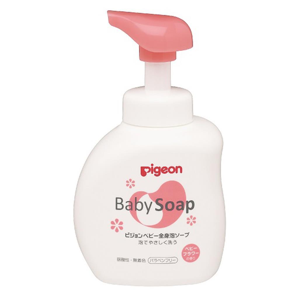 Pigeon Baby Foam Soap Floral 500ml