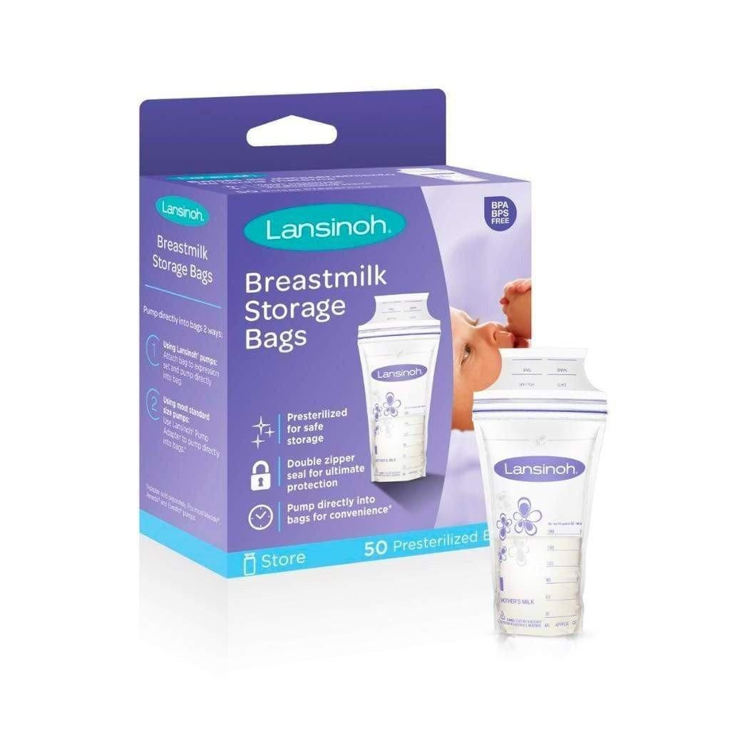 Lansinoh Breastmilk Storage Bags 50s x 2
