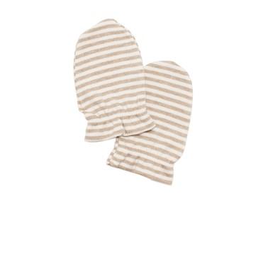 Nachuraru Brown Stripe Mittens