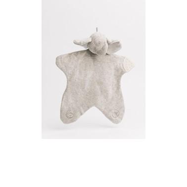 Nachuraru Elephant Comfort Hankie with Teether