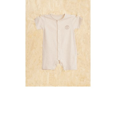 Nachuraru Brown Short Sleeve Onesie