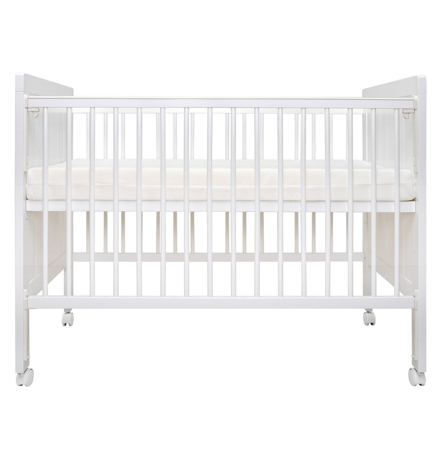 Bonbijou Atlas 5-in-1 Baby Cot with Foam Mattress