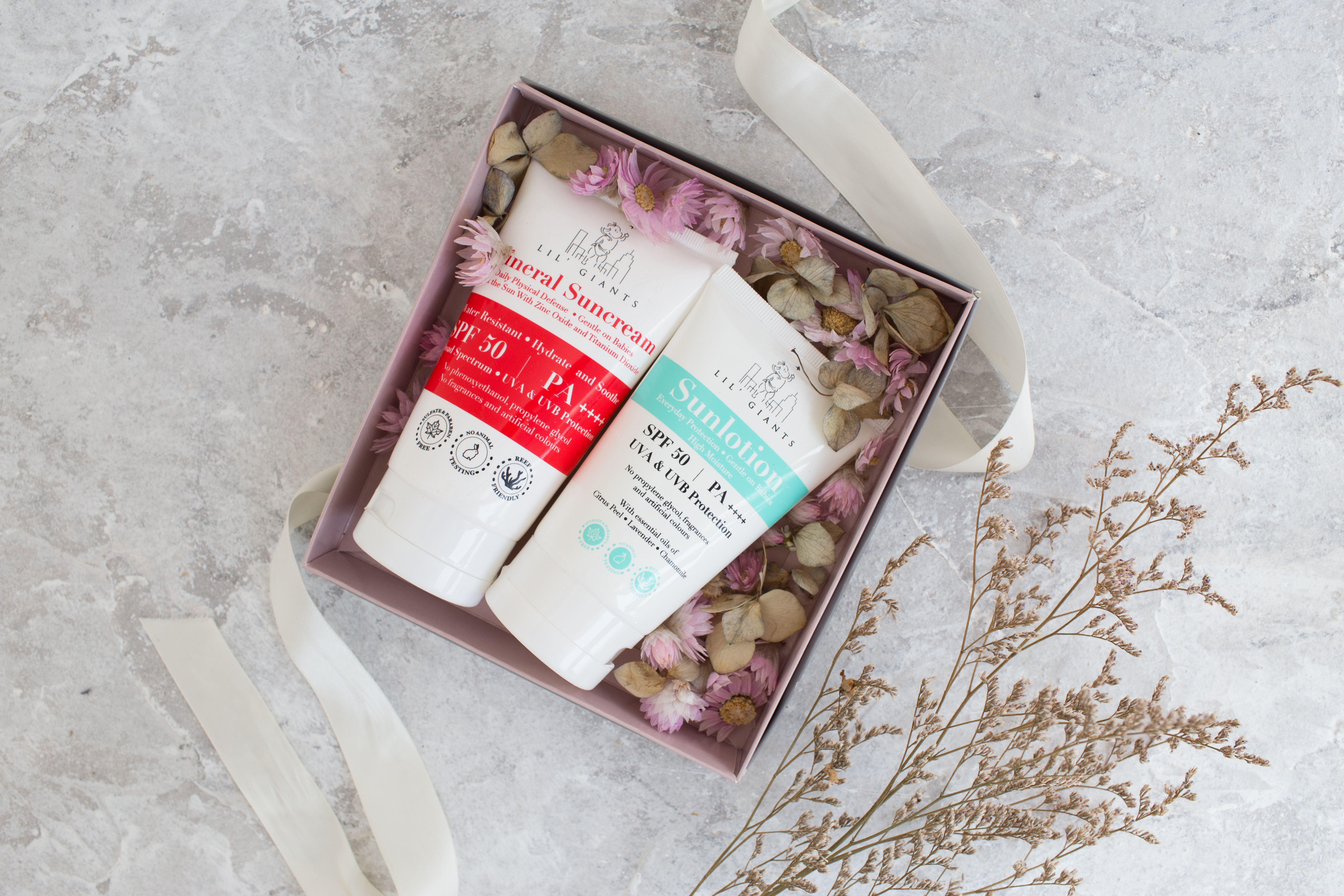 Lil Giants Soothing Sunscreen Giftbox