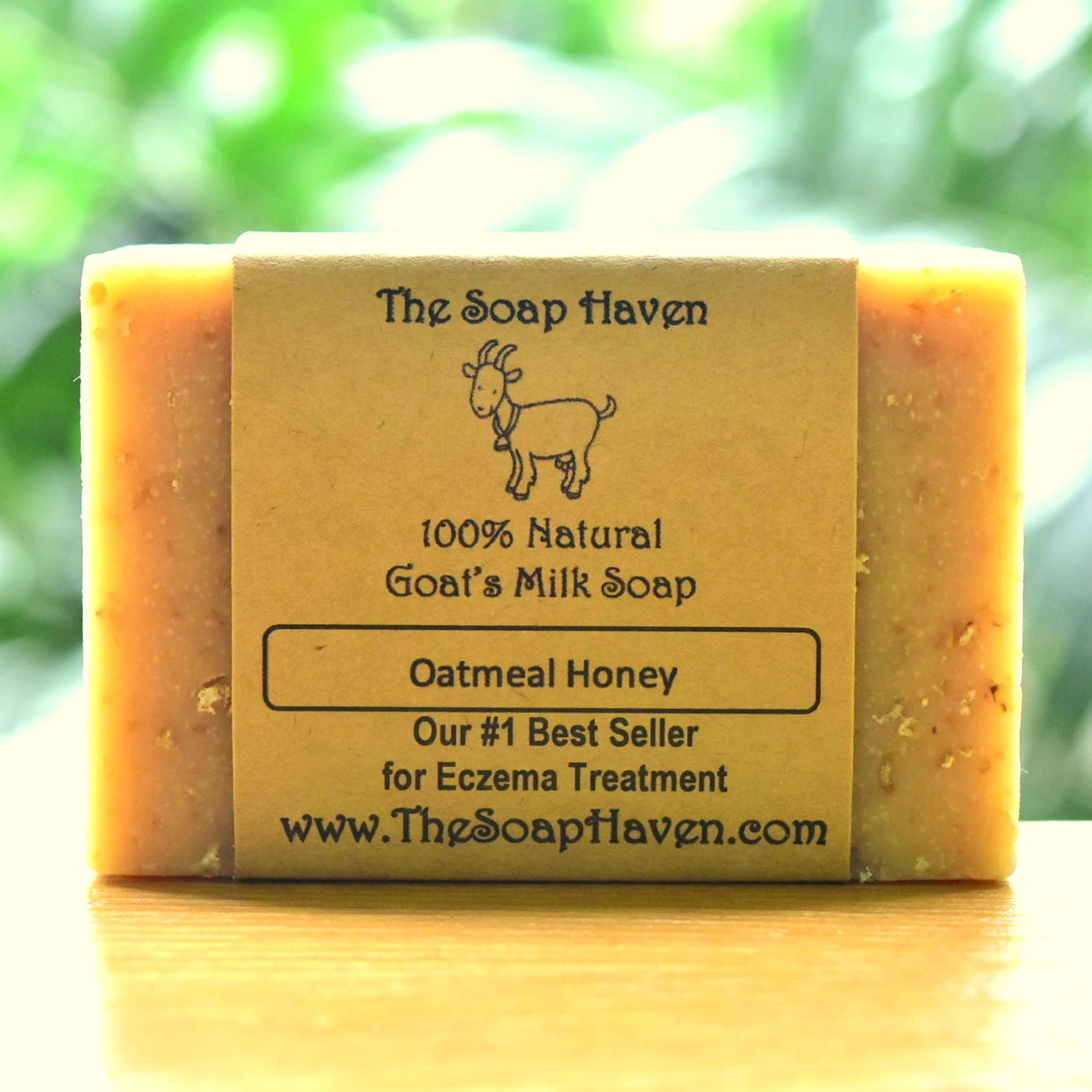 Oatmeal Honey Goat Milk Soap (#1 Best Seller for E