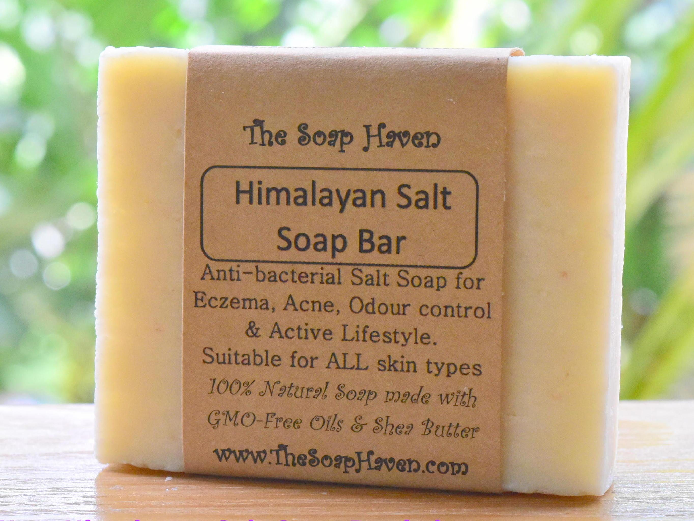 Himalayan Salt Soap (Handmade, Naturally Anti-bact