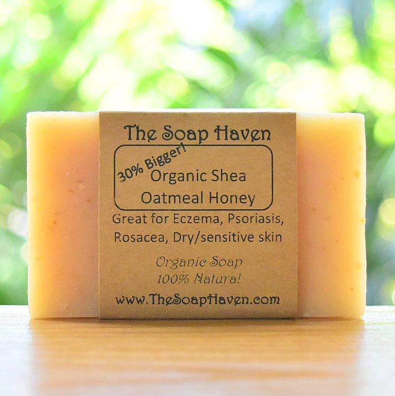 Organic Shea Oatmeal Honey (Handmade Soap Bar Grea