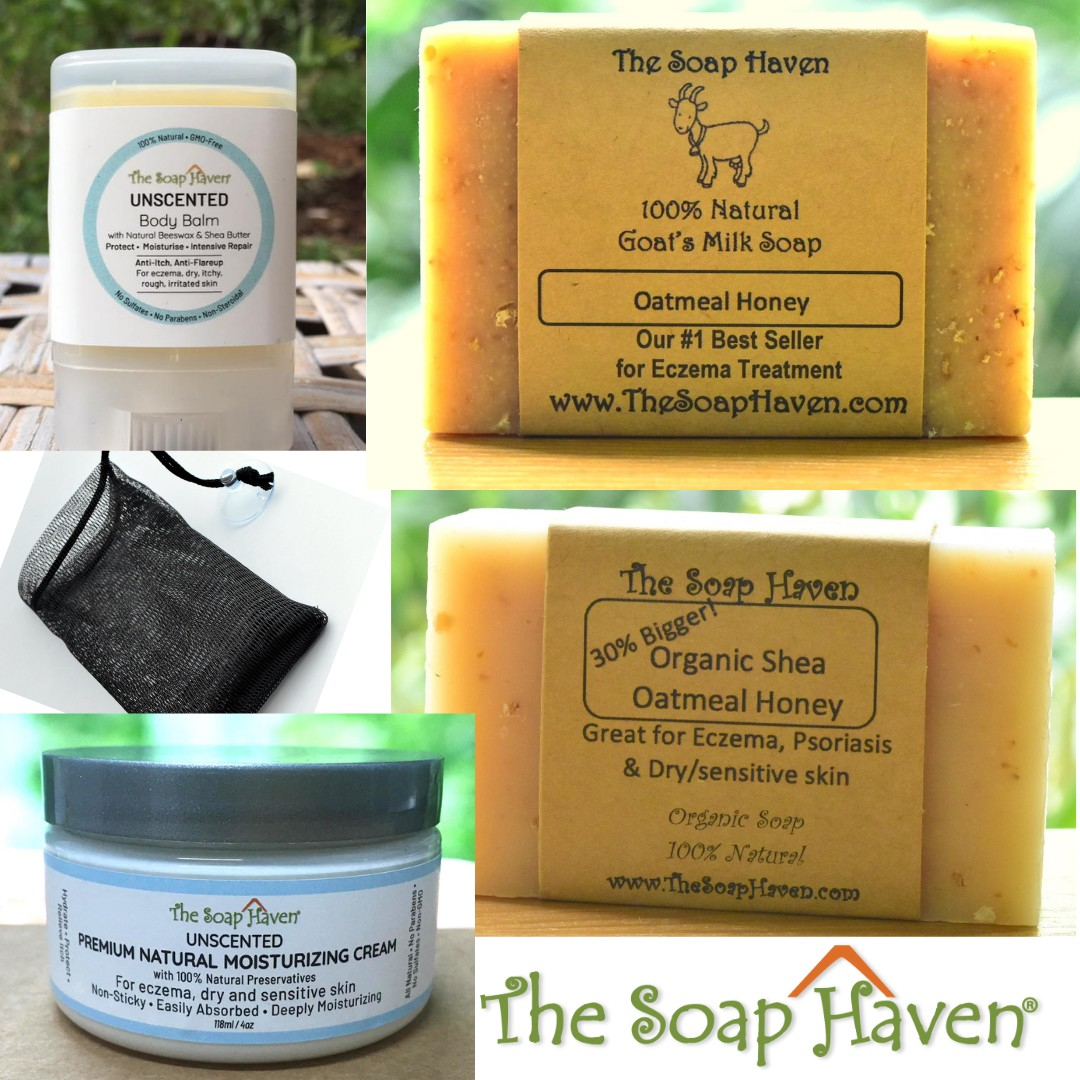 The Soap Haven Eczema Healing Kit (for babies and