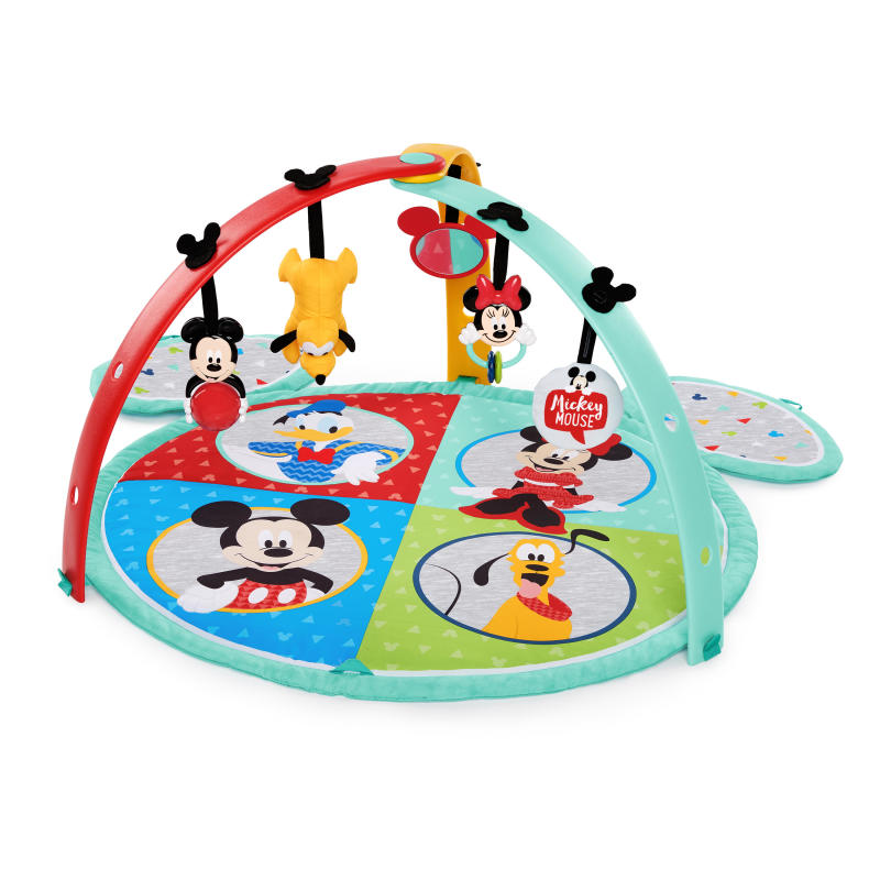 Mickey Mouse Easy Store Activity Gym and Playmat