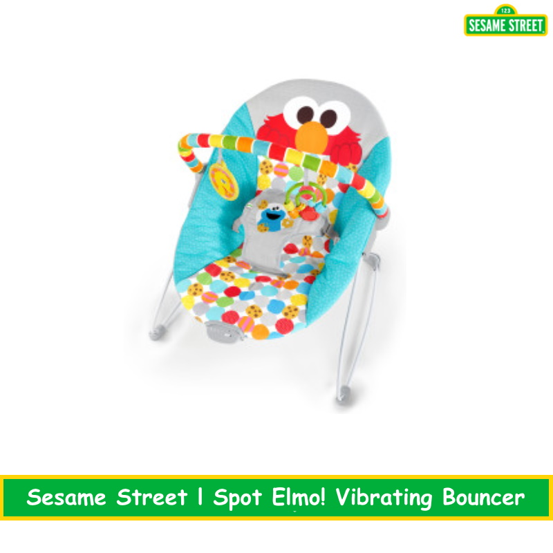 I Spot Elmo! Vibrating Bouncer