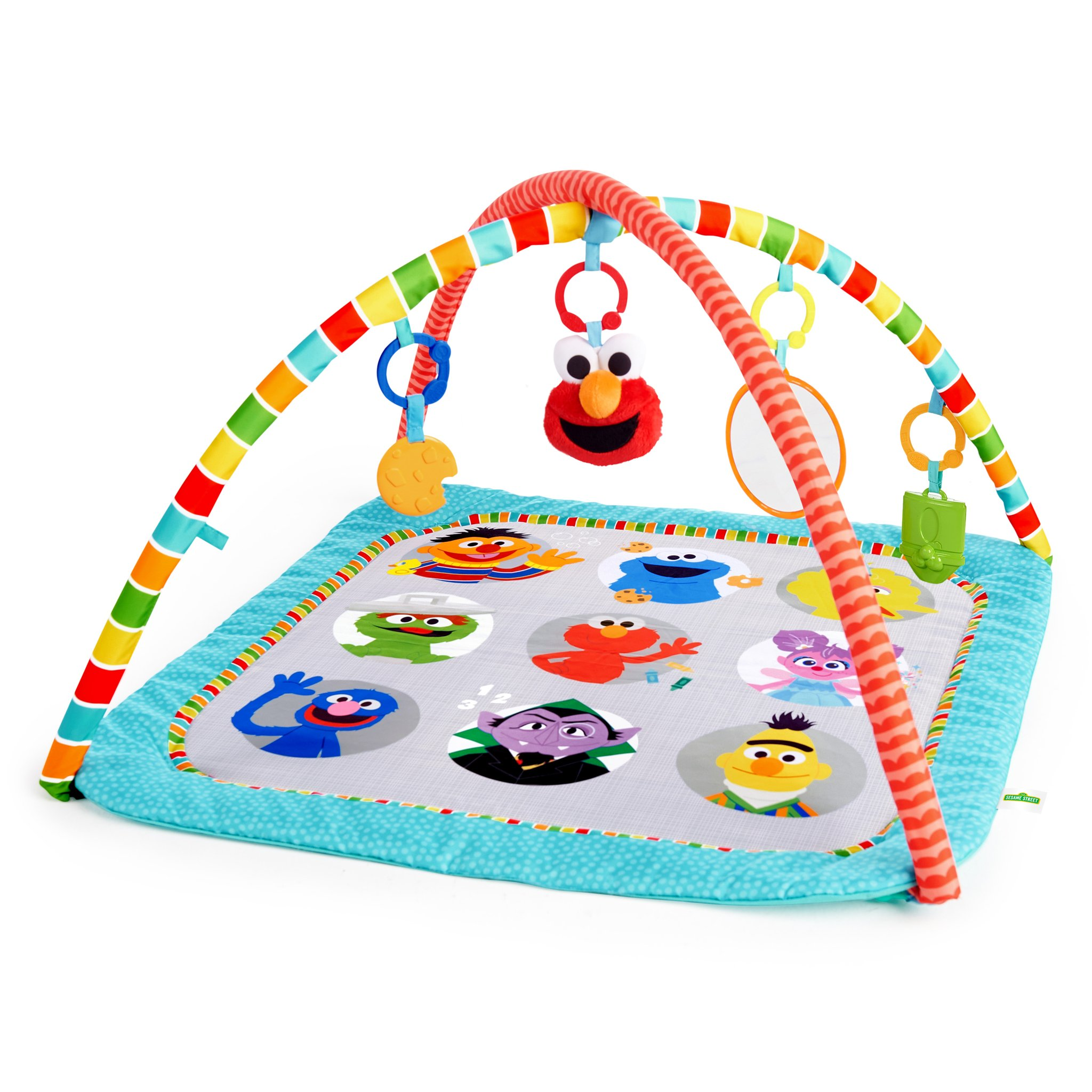 Fun with Sesame Street Friends Activity Gym